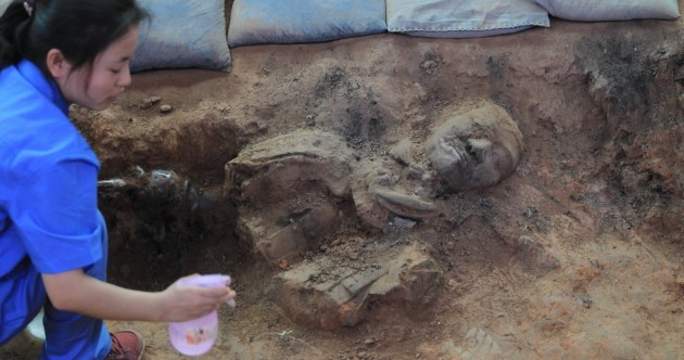 In pictures: Terracotta warriors unearthed