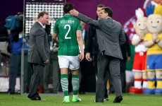 Tardelli upbeat as Ireland's 'Cinderella' story continues