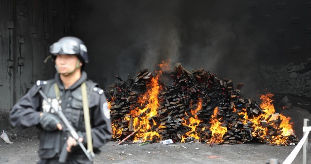In pictures: 100,000 illegal guns seized across China