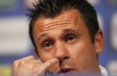 Contrition: Cassano apologises for homophobic remarks