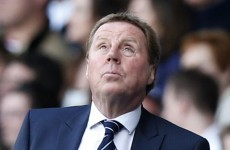 Champions League setback not to blame, says Redknapp