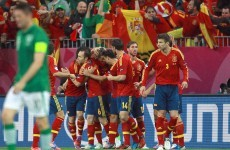 As it happened: Ireland v Spain, Euro 2012