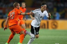 Mesut Ozil misses training but should be fit to face Denmark