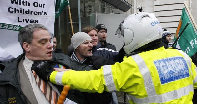 In pictures: Ireland's day of economic and political turmoil