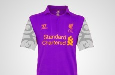 This couldn't be Liverpool's new third kit… could it?