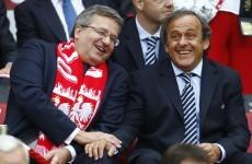 Platini furious over Croatia racism charge