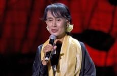 Video: Aung San Suu Kyi making speech in Dublin