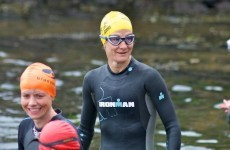Tri-Time: Sonia O'Sullivan takes silver on first outing