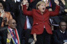 Game on: Angela Merkel to attend politically-charged Germany-Greece clash