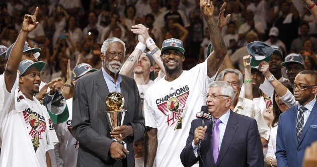 Party in the city where the Heat is on: LeBron, Miami get their Championship