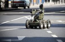 Bomb squad make safe explosive devices in Limerick