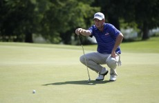 Travelers Championship: Hoffman's collapse hands Leishman maiden win