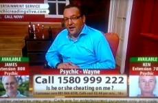 TV3 distances itself from Psychic Wayne TV broadcast
