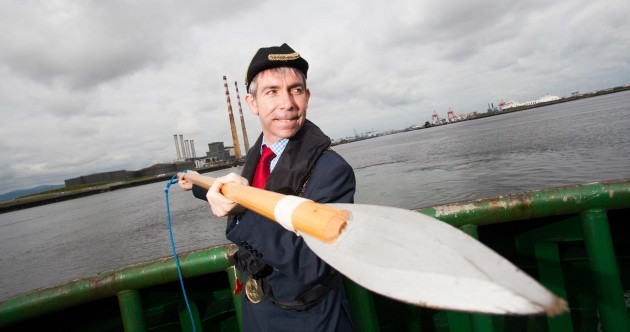 Lord Mayor of Dublin With A Big Scary Spear of the Day