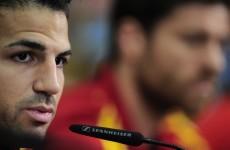 Fabregas laughs off Messi comparisons