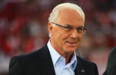Beckenbauer backs Germany for Euro glory