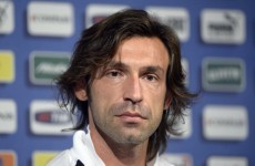Germany are afraid of Italy, says Pirlo