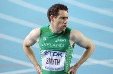 European Championships: Smyth hits the ground running in Helsinki