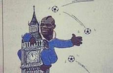 Gazzetta dello Sport sorry for Balotelli 'King Kong' cartoon