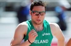 Gregan becomes third Irish finalist in Helsinki
