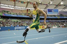 Amputee Pistorius selected for Olympics in 4x400