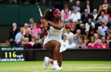 Preview: Favourite tag means nothing to Serena