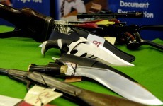 Bring me your weapons: Dublin councillor announces knife amnesty