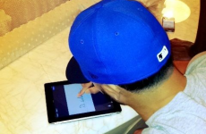 Deron Williams signed his $100m NBA contract with his finger on an iPad