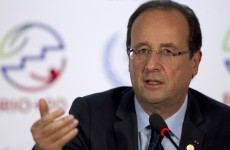 Hollande compares footballers to French soldiers