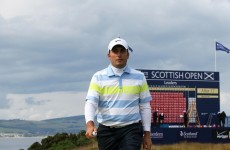 Francesco Molinari maintains Scottish Open lead