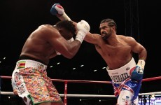 VIDEO: Haye defeats Chisora in fifth round