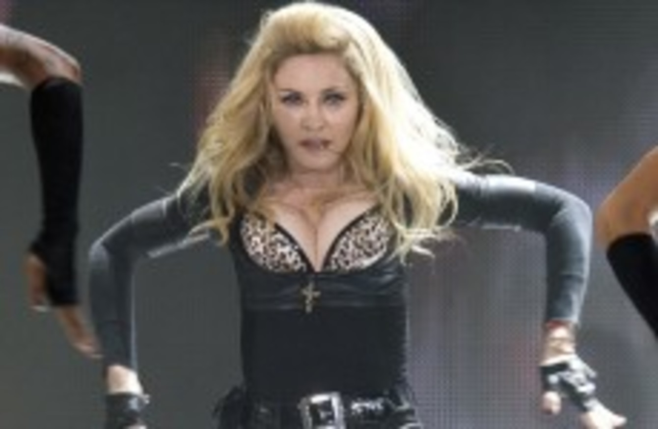 Oh That Swastika Madonna Sued Over Concert Video Of French Politician