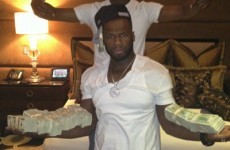 Get rich or die tryin... 50 Cent is now a licensed boxing promoter