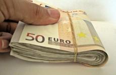 86 per cent of Irish people believe corruption is a major problem