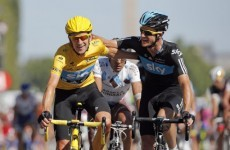 Bradley Wiggins becomes the first British winner of the Tour de France