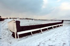 The answer is snow: weekend's sport action disrupted by weather