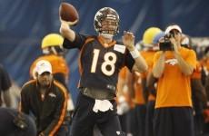 Peyton's place as starting Denver QB looks assured