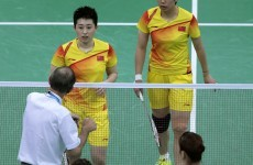 Eight Olympic badminton players charged over 'not trying' in matches
