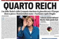 Berlusconi family newspaper calls Merkel the Fourth Reich