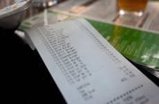 Now THAT'S what we call an Olympic restaurant bill (Pic)