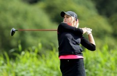 Ladies Irish Open: Matthew leads the way with English duo close behind