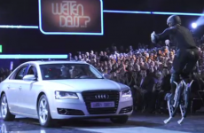 Millions watch as thrillseeker knocked unconscious on live German TV