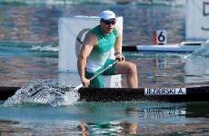 Ireland's Andrzej Jezierski misses out canoe final spot