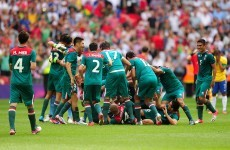 Olympic soccer: Mexico stun Brazil to win gold