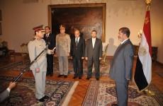 Egypt's president retires defence minister