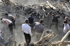 VIDEO: Iranians mourn as earthquake death toll passes 300