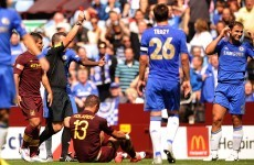 Ivanovic escapes suspension after Community Shield red card
