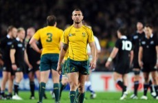 No room for Quade Cooper in Australian squad to face All Blacks