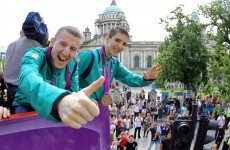 In pictures: Belfast welcomes home its Olympic boxing heroes