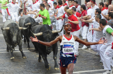 Tumblr of the Day: Mo Farah Running Away From Things